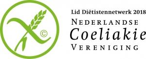 Lid Diëtistennetwerk Coeliakie vereniging