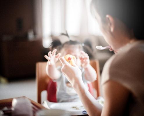 kinder-dietist leren eten